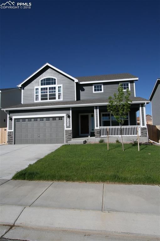 7302 Dutch Loop, Colorado Springs, CO 80925 (#1468080) :: Jason Daniels & Associates at RE/MAX Millennium