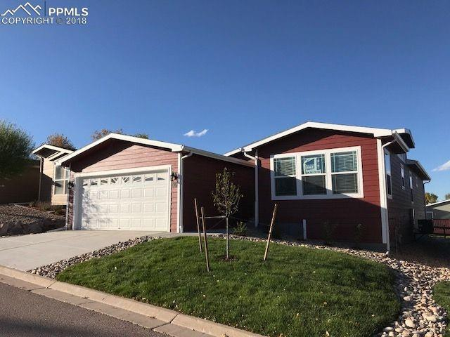 4420 Gray Fox Heights, Colorado Springs, CO 80922 (#1514416) :: The Hunstiger Team