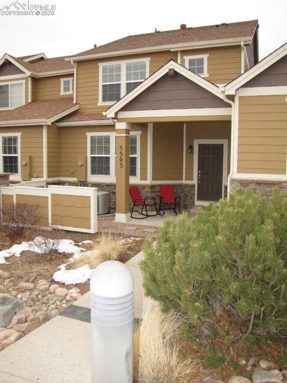 5505 Cross Creek Drive, Colorado Springs, CO 80924 (#2206076) :: The Treasure Davis Team