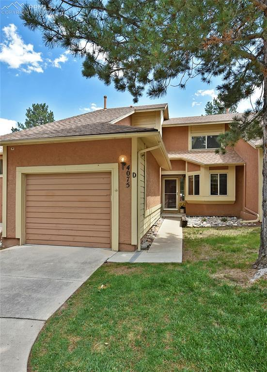 4075 Autumn Heights Drive D, Colorado Springs, CO 80906 (#2210762) :: The Treasure Davis Team