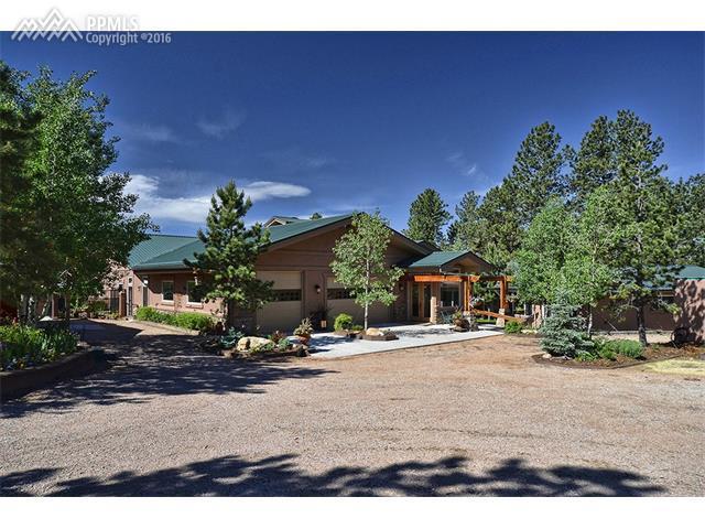 2330 Rampart Range Road, Woodland Park, CO 80863 (#2228133) :: 8z Real Estate