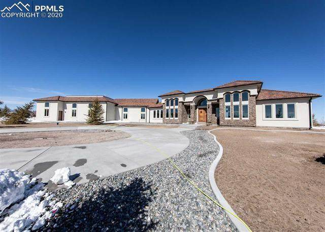 8313 Airpark Heights, Peyton, CO 80831 (#2845530) :: CC Signature Group