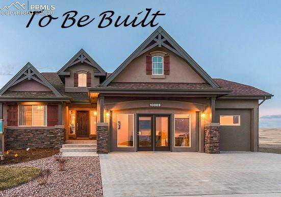 10251 Kentwood Drive, Colorado Springs, CO 80924 (#3061370) :: Tommy Daly Home Team