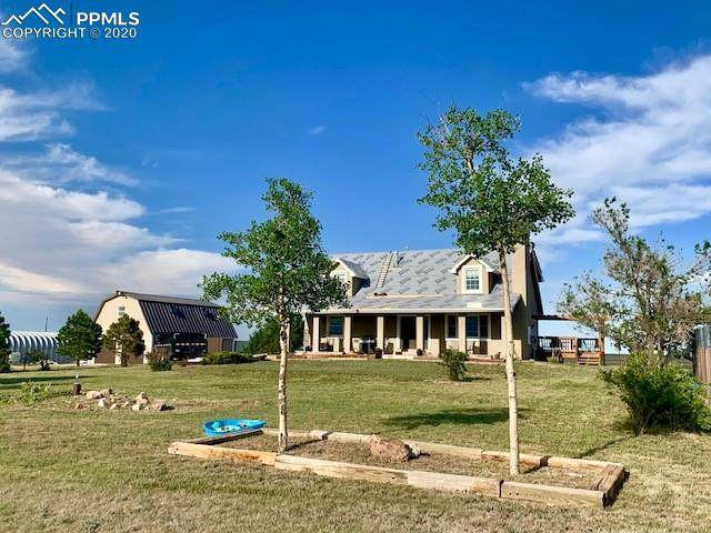 10110 Hahn Road, Calhan, CO 80808 (#3295308) :: Action Team Realty