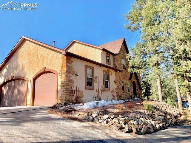 375 Highview Circle, Woodland Park, CO 80863 (#3343235) :: The Gold Medal Team with RE/MAX Properties, Inc
