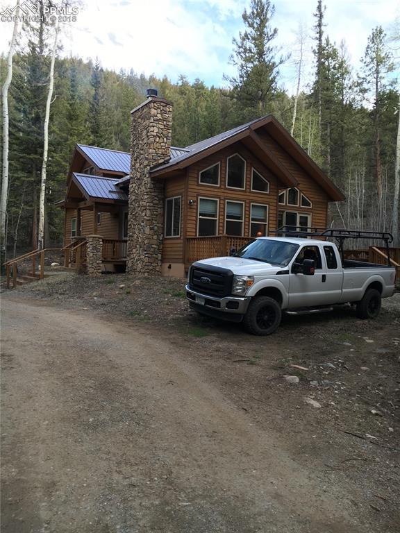435 Granite Road, Florissant, CO 80816 (#3440940) :: The Peak Properties Group