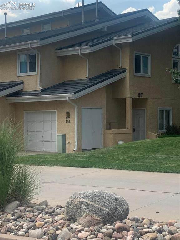 517 Observatory Drive, Colorado Springs, CO 80904 (#3509219) :: Venterra Real Estate LLC