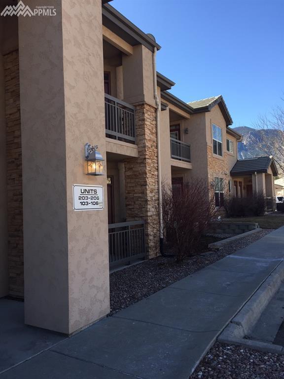 605 Cougar Bluff Point #103, Colorado Springs, CO 80906 (#3684849) :: Jason Daniels & Associates at RE/MAX Millennium