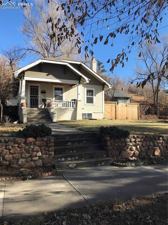 1202 W Kiowa Street, Colorado Springs, CO 80904 (#4185431) :: The Treasure Davis Team