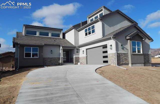 3080 Cathedral Park View, Colorado Springs, CO 80904 (#4539878) :: Tommy Daly Home Team