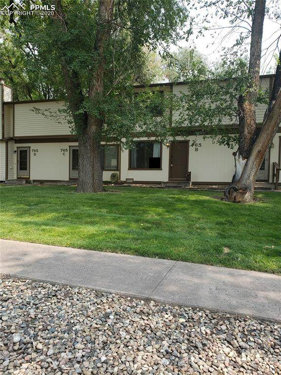 765 Alexander Road B, Colorado Springs, CO 80909 (#4997907) :: Finch & Gable Real Estate Co.