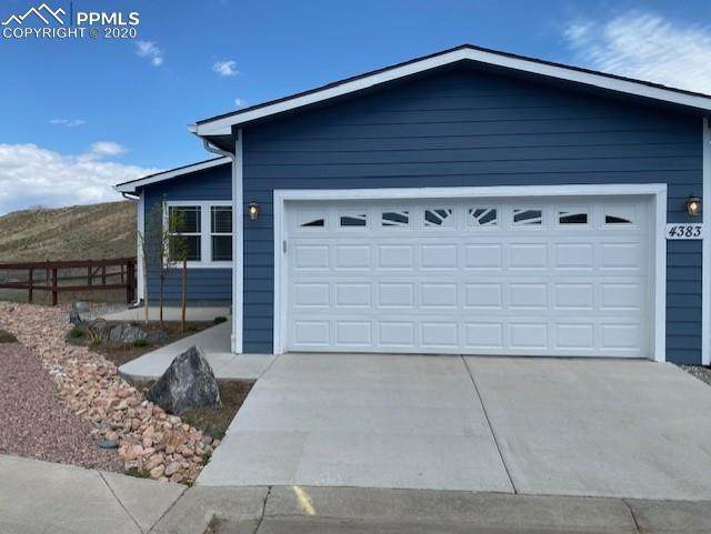 4383 Blue Grouse Point, Colorado Springs, CO 80922 (#5147212) :: The Treasure Davis Team