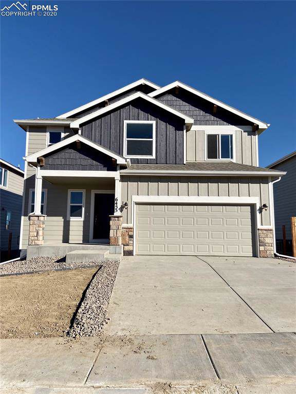 6455 Weiser Drive, Colorado Springs, CO 80925 (#5158982) :: The Hunstiger Team
