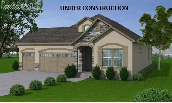 7221 Rim Bluff Lane, Colorado Springs, CO 80927 (#5611014) :: 8z Real Estate