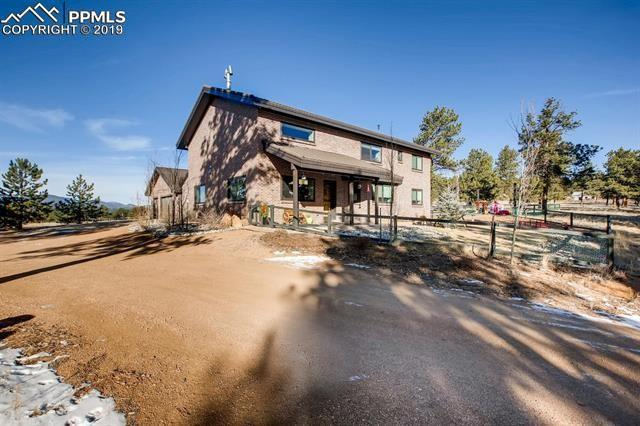 483 Pikes Peak Drive, Florissant, CO 80816 (#5624313) :: The Kibler Group