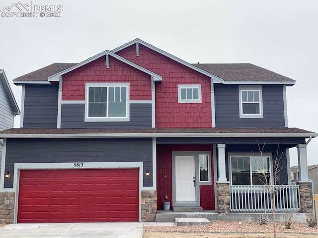 9613 Emerald Vista Drive, Peyton, CO 80831 (#5972660) :: The Peak Properties Group