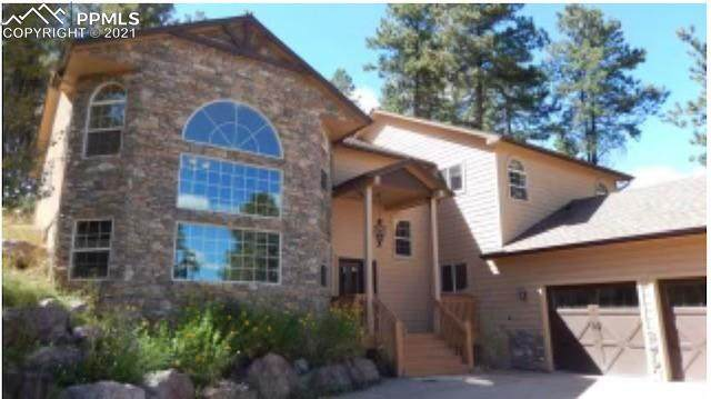 1360 Masters Drive, Woodland Park, CO 80863 (#7193157) :: HomeSmart