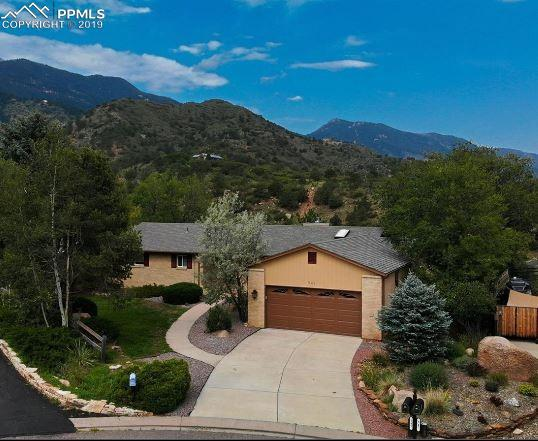 545 Crystal Hills Boulevard, Manitou Springs, CO 80829 (#7454349) :: Tommy Daly Home Team