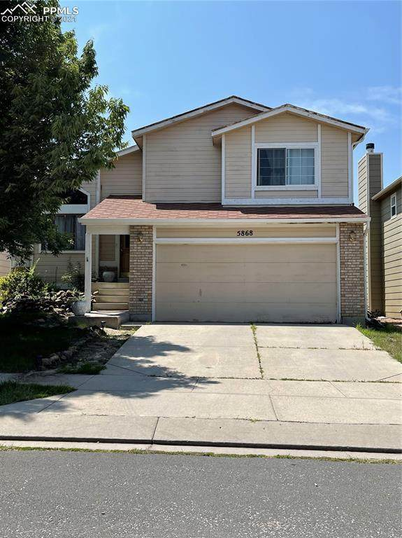 5868 Santana Drive, Colorado Springs, CO 80923 (#7495841) :: The Gold Medal Team with RE/MAX Properties, Inc