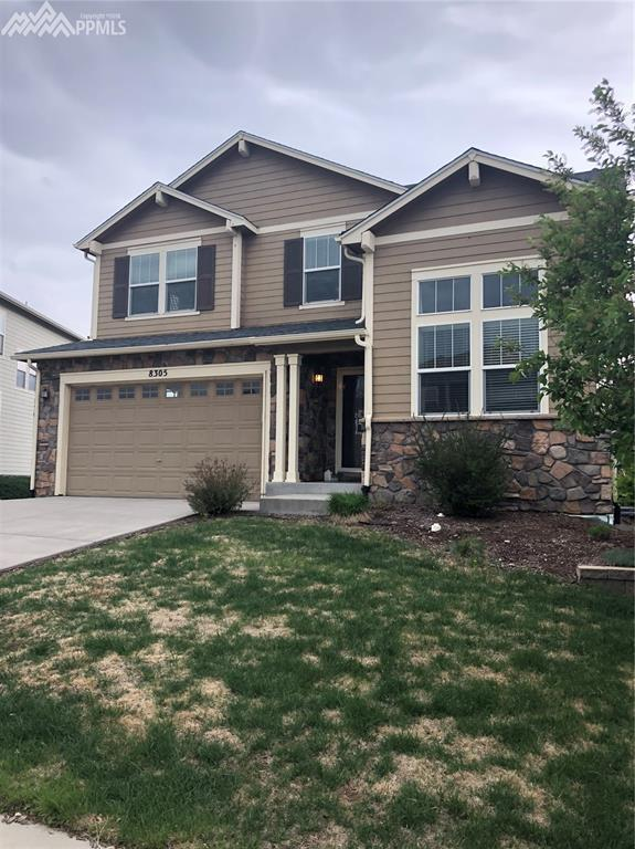 8305 Winding Passage Drive, Colorado Springs, CO 80924 (#7707328) :: The Treasure Davis Team