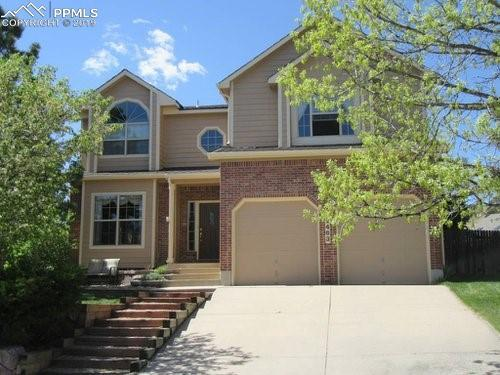 2463 Stoneridge Drive, Colorado Springs, CO 80919 (#8066702) :: Tommy Daly Home Team