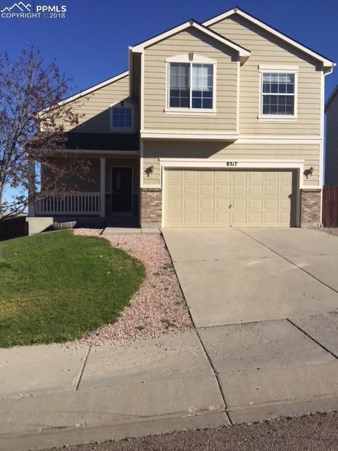 8317 Parkglen Drive, Fountain, CO 80817 (#8068173) :: The Hunstiger Team