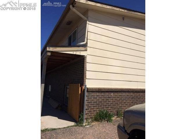 4319 Lashelle Avenue #3, Colorado Springs, CO 80906 (#8308318) :: CENTURY 21 Curbow Realty