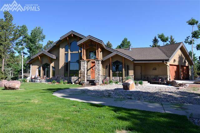 1681 County 5 Road, Divide, CO 80814 (#8360335) :: Jason Daniels & Associates at RE/MAX Millennium