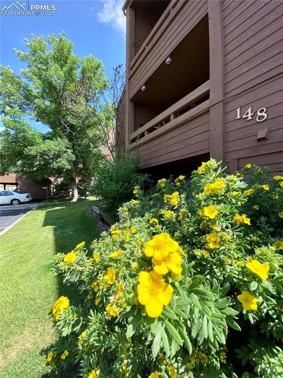 148 W Rockrimmon Boulevard #201, Colorado Springs, CO 80919 (#8391547) :: Venterra Real Estate LLC