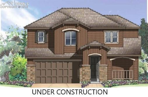 7355 Brush Thorn Lane, Colorado Springs, CO 80927 (#8920110) :: Action Team Realty
