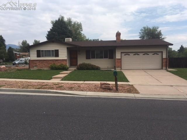 710 Holland Park Boulevard, Colorado Springs, CO 80907 (#8978548) :: The Hunstiger Team