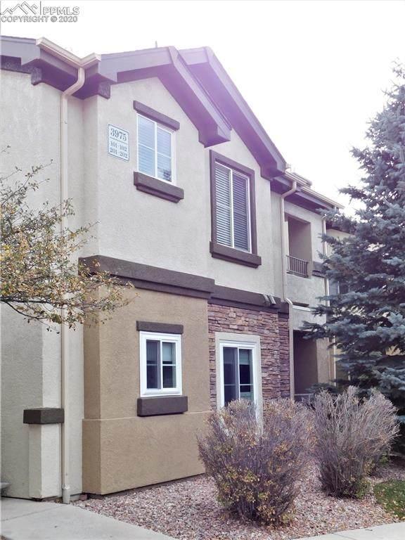 3975 Riviera Grove #101, Colorado Springs, CO 80922 (#9170929) :: The Scott Futa Home Team