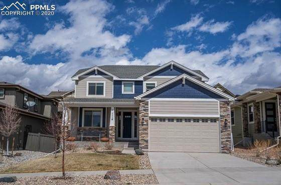 1118 Seabiscuit Drive, Colorado Springs, CO 80921 (#9242708) :: The Kibler Group