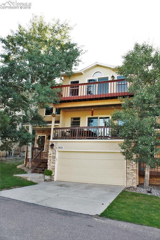 1421 Ledge Rock Terrace, Colorado Springs, CO 80919 (#9575970) :: Jason Daniels & Associates at RE/MAX Millennium