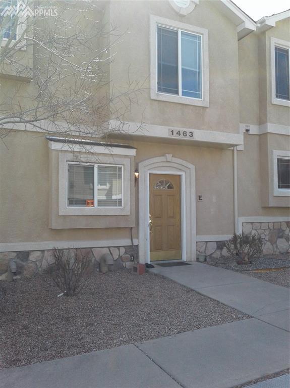 1463 Madison Ridge Heights E, Colorado Springs, CO 80904 (#9693402) :: The Treasure Davis Team