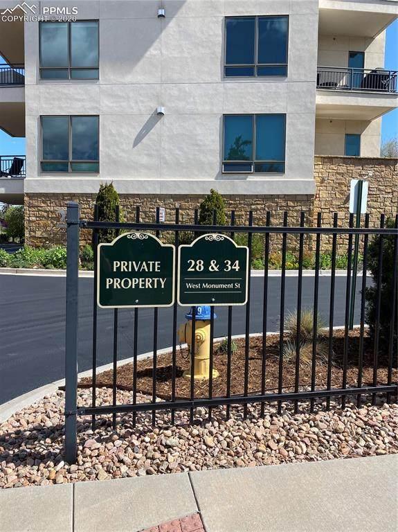 34 W Monument Street #303, Colorado Springs, CO 80903 (#9703796) :: The Treasure Davis Team