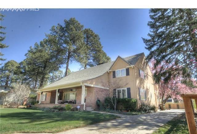 1319 Culebra Avenue, Colorado Springs, CO 80903 (#9761828) :: The Hunstiger Team