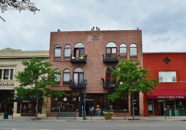 108 N Tejon Street C, Colorado Springs, CO 80903 (#9804719) :: The Hunstiger Team