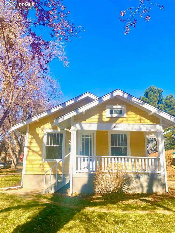 604 E Espanola Street, Colorado Springs, CO 80907 (#1445062) :: Finch & Gable Real Estate Co.