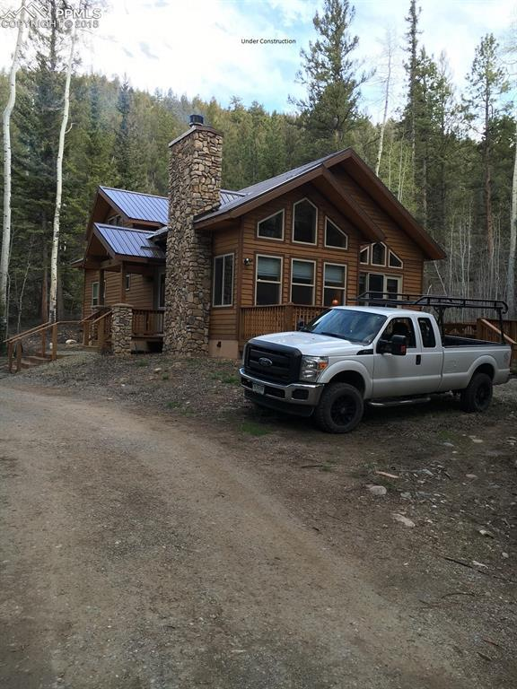 435 Granite Road, Florissant, CO 80816 (#3440940) :: Action Team Realty