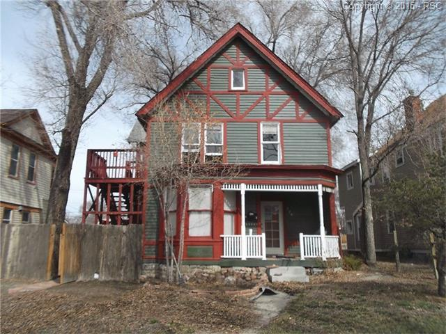 726 E Platte Avenue, Colorado Springs, CO 80903 (#4902883) :: The Hunstiger Team