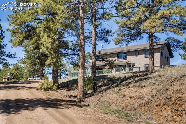 483 Pikes Peak Drive, Florissant, CO 80816 (#6323450) :: Compass Colorado Realty