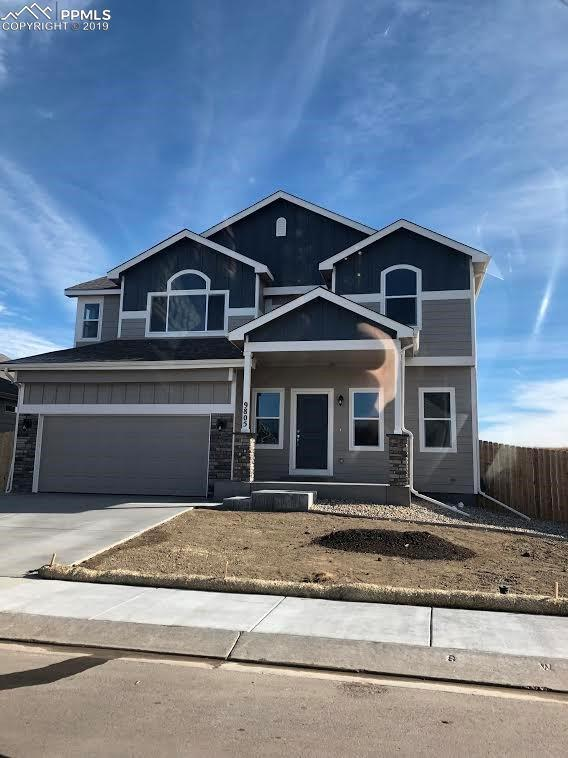 9805 Rubicon Drive, Colorado Springs, CO 80925 (#7544310) :: The Hunstiger Team