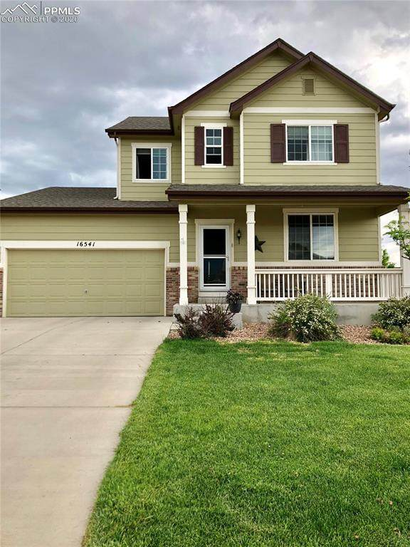 16541 Elk Valley Trail, Monument, CO 80132 (#8841933) :: Finch & Gable Real Estate Co.