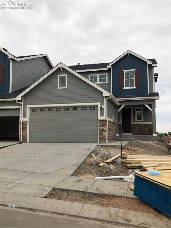 5835 Morning Light Terrace, Colorado Springs, CO 80919 (#9461270) :: The Hunstiger Team
