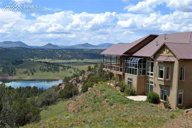 317 S Lakeview Heights, Florissant, CO 80816 (#743469) :: The Kibler Group
