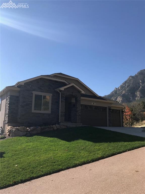 583 Mountain Pass Way, Colorado Springs, CO 80906 (#8022507) :: 8z Real Estate