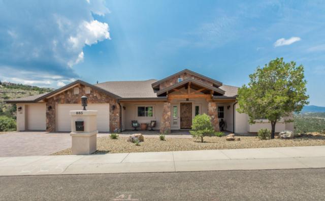 885 Bonanza Trail, Prescott, AZ 86301 (#1014342) :: The Kingsbury Group