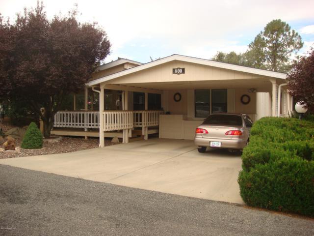 800 Wildflower Drive, Prescott, AZ 86301 (#1016407) :: HYLAND/SCHNEIDER TEAM