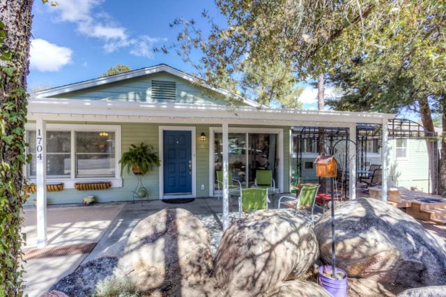 1704 Woodland Circle, Prescott, AZ 86305 (#1019525) :: HYLAND/SCHNEIDER TEAM